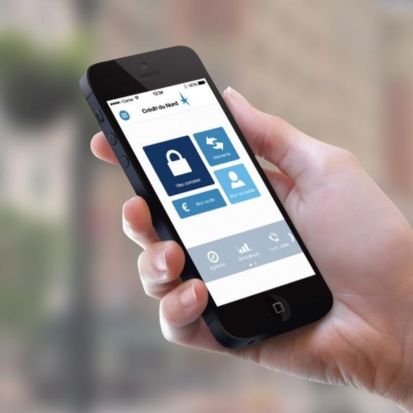 Refonte graphique application smartphone